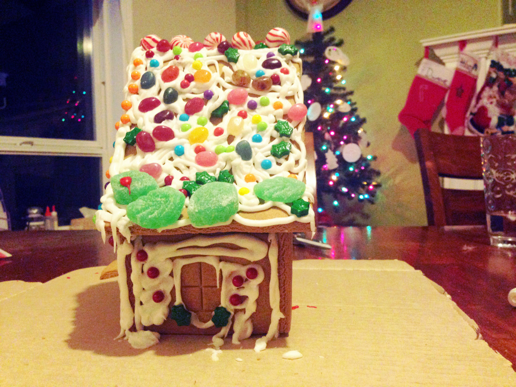 gingerbread house // stephanieorefice.net
