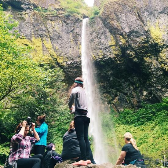 Elowah Falls // stephanieorefice.net