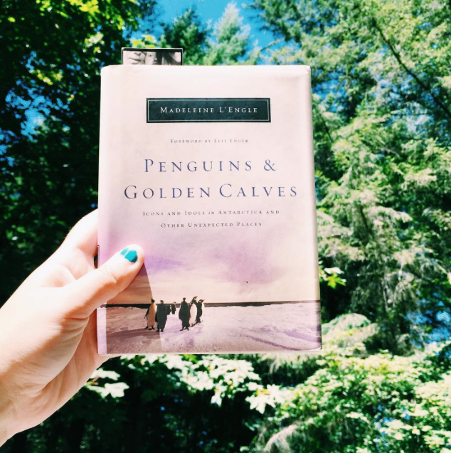 Penguins + Golden Calves // Madeleine L'Engle // stephanieorefice.net