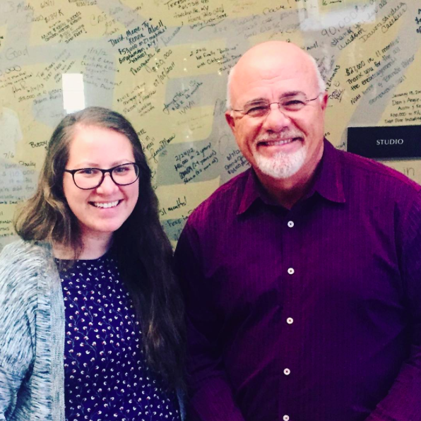 Me and Dave Ramsey // stephanieorefice.net