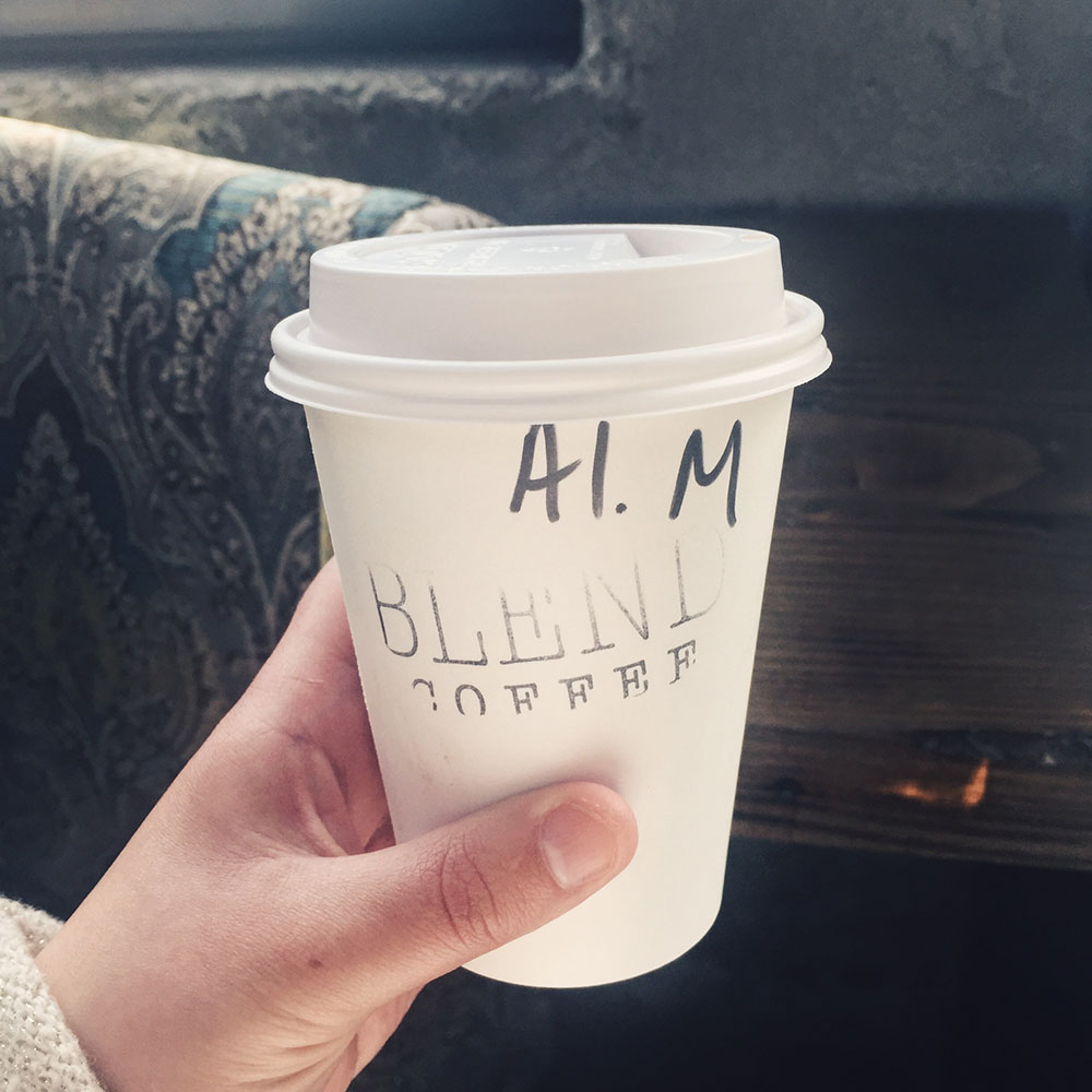 Blend Coffee in Portland, OR // stephanieorefice.net