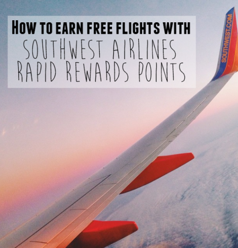 How to earn free flights with Southwest Rapid Rewards