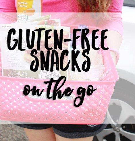 Gluten-free snacks on-the-go
