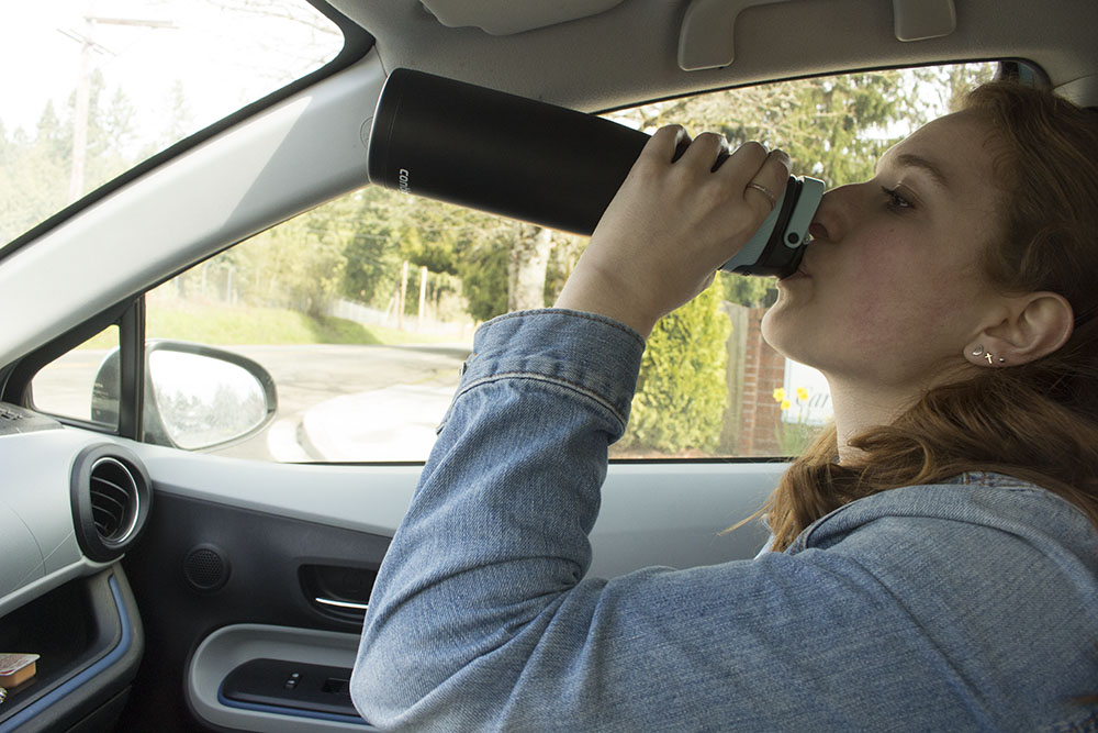 5 ways to drink more water // stephanieorefice.net