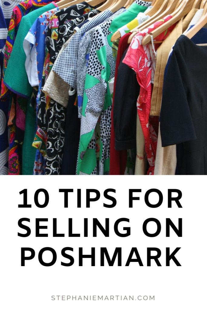 10 tips for selling on Poshmark