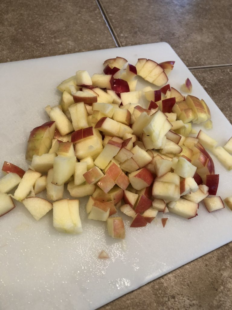 Whole 30 Compliant Cinnamon apples